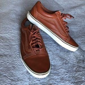Vans Leather Old Skool sz. 9.5